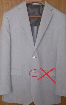 ジャケット(上着)の決め事とお手入れ方法を理解しよう