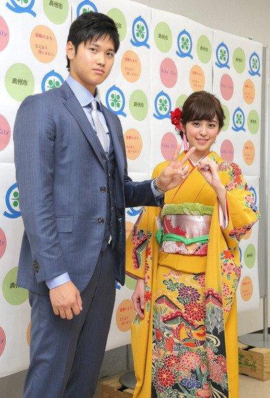 大谷翔平の成人式のスーツ姿がカッコいいと話題に!腕時計も凄い!