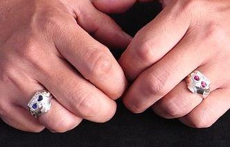 ドクロの指輪