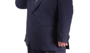 デブのスーツ