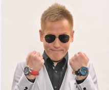 じゅんいちダビットソンの両腕時計