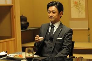 浅野支店長のスーツ