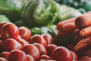 トマトと人参と青野菜