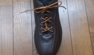 靴紐を短くする裏技