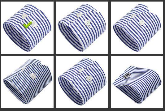 シャツの袖の形の種類