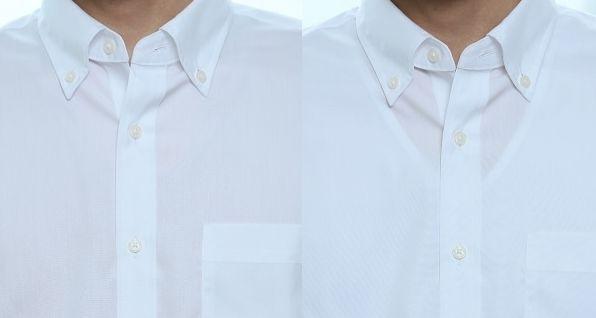 ワイシャツの下に肌着を着るならベージュのVネックが一番!