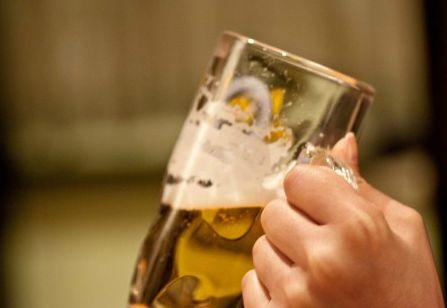 ジョッキのビール