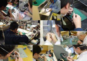 時計修理の職人