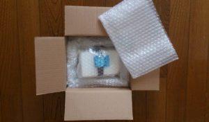 腕時計のオーバーホールが終わってから送られてきた箱