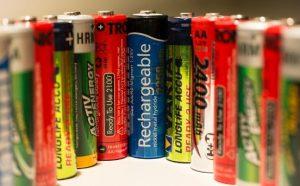 様々な単三電池