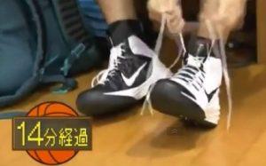 田伏 バッシュ 靴紐