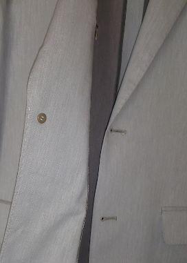 ジャケットのボタン