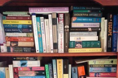 満杯の本棚