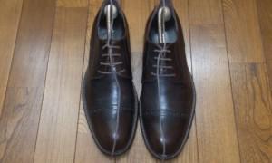 靴紐が縦になる原因の土台の結び