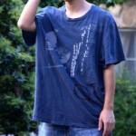 Tシャツを合わせるポイントは肩幅の合うのブランドを見つけること