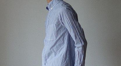 馴染んだワイシャツ