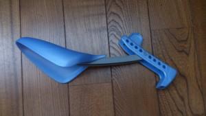 プラスチック製のシューキーパー