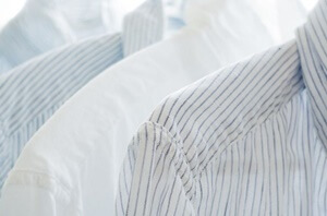 様々なワイシャツの素材