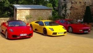 フェラーリとランボルギーニとフェラーリ