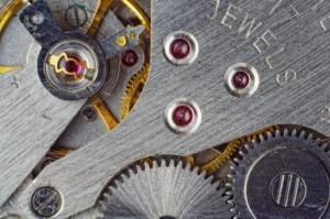 腕時計の歯車