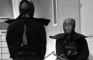 剣道の立ち合い