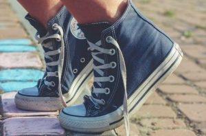 だらしのない靴